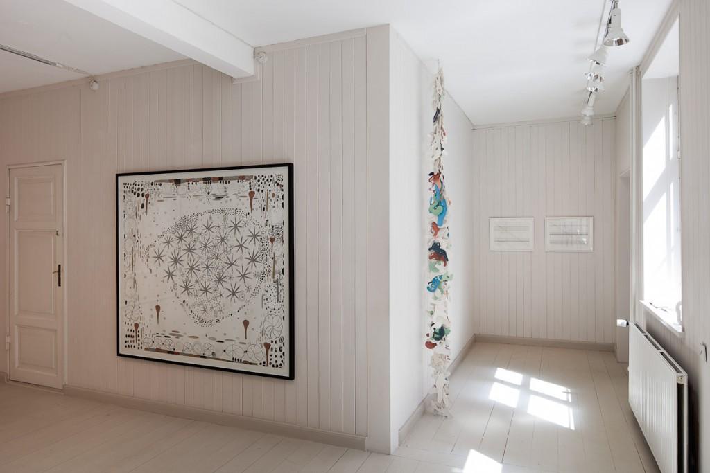 Kirstine Vaaben <i>Det andet Rum,</i> Solo, Clausens Kunsthandel, 2011